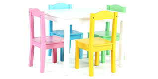 american kids 5 piece wood table and chair set plastic chairs and tables for kids study table with chair for kids