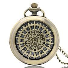 pocket watch chain necklace images Black butler sebastian 39 s pocket watch bronze for sale jpg