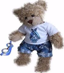 teddy clothes teddy clothes fits build a blue surfer swim goggles