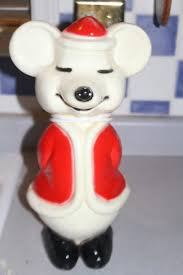 Blow Mold Christmas Decorations Ebay by Vintage Union Products Christmas Santa Mouse Blow Mold 15
