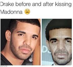 Memes De Drake - madonna suffers backlash for coachella kiss with drake as the