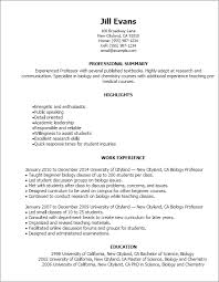 Sample Resume For On Campus Job by Resume Template Styles Resume Templates Myperfectresume Com