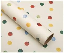 polka dot wrapping paper bridgewater polka dot wrapping paper 3m whsmith