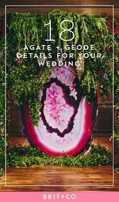 geode engagement ring box 18 ways to incorporate agate geode into your wedding brit co
