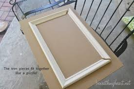 How To Fit Kitchen Cabinets How To Make Your Own Cabinet Doors Beneath My Heart