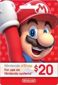 nintendo eshop gift card nintendo 20 eshop gift card nintendo eshop 20 best buy