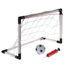 Backyard Football Goal Post Small Size Kids Childs Mini Football Soccer Goal Post Net Set