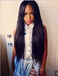 middle parting weave hairstyles ideas about part in the middle hairstyles cute hairstyles for girls