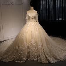 aliexpress com buy wedding dress new 2017 long sleeve elegant