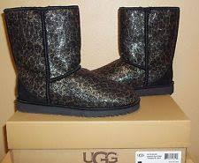 ugg womens glitter boots ugg australia print boots for ebay