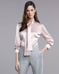 in satin blouses ways of wearing a satin blouse carey fashion