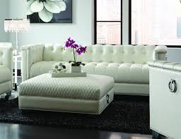 White Leather Couch Living Room Chaviano White Leather Sofa Steal A Sofa Furniture Outlet Los