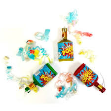 new years party poppers party supplies at amols party supplies