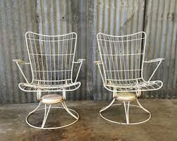 Antique Metal Patio Chairs Precious Vintage Metal Patio Furniture Retro Sets Parts Restorers