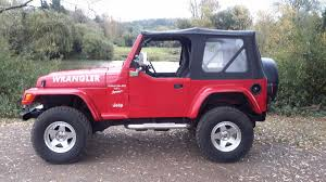 jeep matte red used jeep wrangler cars for sale motors co uk