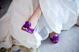 wedding shoes purple funky bridal shoes purple kate spade elizabeth designs the