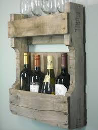 small pallet wine rack rustic wine shelf book shelf