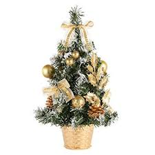 amazon com peyan 16 inch christmas tree tabletop majestic fir