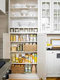 cool tall white wooden food pantry cabinet for corner kitchen