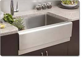 stainless steel apron sink houzer epg 3300 epicure series apron front farmhouse stainless