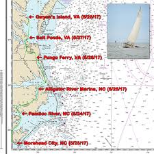 Florida Intracoastal Waterway Map by Freya U0027s Voyage Home To Virginia Freya Sailboat Project