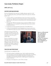 National Federation Of The Blind Address Chapter 9 U S Case Studies Accessible Pedestrian Signals A