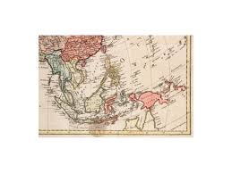 map asie asia antique map carte d asie j b poison m m