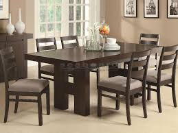 coaster table and chairs 103101 dabny rectangular dining table set
