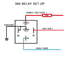 delightful relay wiring diagram for electric fan inspiring