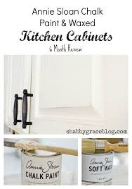 Using Annie Sloan Chalk Paint On Kitchen Cabinets Annie Sloan Chalk Paint U0026 Waxed Kitchen Cabinets 6 Month Review