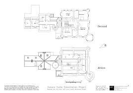 castle plans original plans of dunans castle or at least how we think the