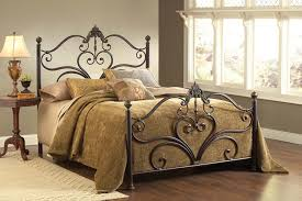 Iron Bed Set Hillsdale Furniture 1756bqr Newton Bed Set With Rails