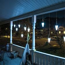 decorative hanging solar lights solar led tree hanging lights color changing balcony garden outdoor