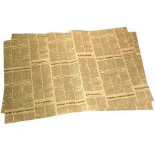 newspaper wrapping paper wrapping paper vintage newspaper gift wrap artware packing package