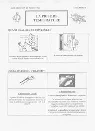 sonde de temperature cuisine les procédures en hygiène et sécurité en restauration en haccp with