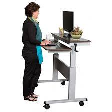 Best Adjustable Height Desks by Desk Crank Standing Desk Regarding Elegant 48quot Crank