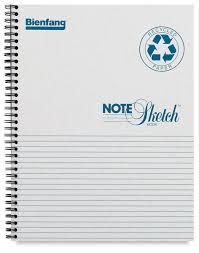 bienfang notesketch blick art materials