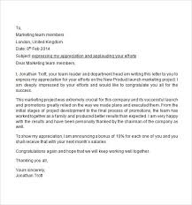 appreciation letter to employees the letter sle