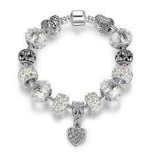 black pandora charm bracelet images Pandora love charm bracelet quot genuine sterling silver quot flash jpg