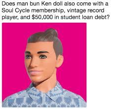 Ken Meme - man bun ken know your meme