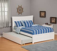 bedroom interesting bedroom furniture design with cozy trundle cozy white trundle beds with striped bedding and