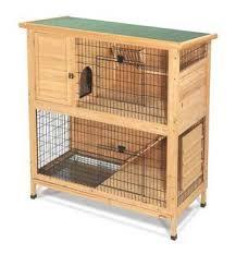 Rabbit Hutch Wood Amazon Com Super Pet 2 Story Premium Wood Rabbit Hutch 48 In