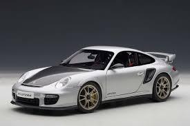 porsche silver autoart die cast model porsche 911 997 gt2 rs silver 77961 die
