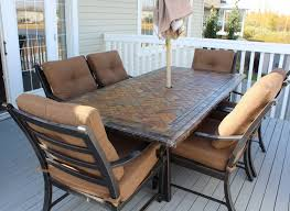 Patio Table 6 Chairs Furniture Great Summer Winds Patio Furniture For Patio Furniture