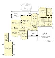 baby nursery house plans with large mud rooms this efficient and
