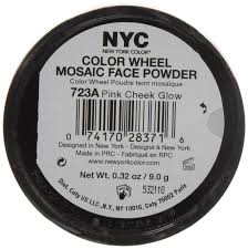 Pink Color Wheel by Amazon Com New York Color Wheel Mosaic Face Powder Pink Cheek