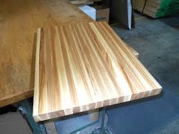 photo gallery production pictures of butcher block countertops