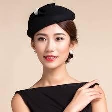 women u0027s bowknot vintage 100 australian wool fedoras pillbox hat