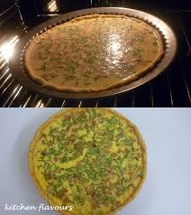 kitchen flavours smoked ham and cheddar quiche ihcc