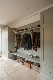 a bootroom mudroom designed for an english country house by